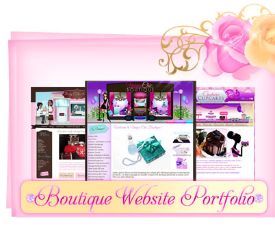 boutique web design portfolio