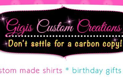 Sewing Website Design for Gigi's Custom Creations