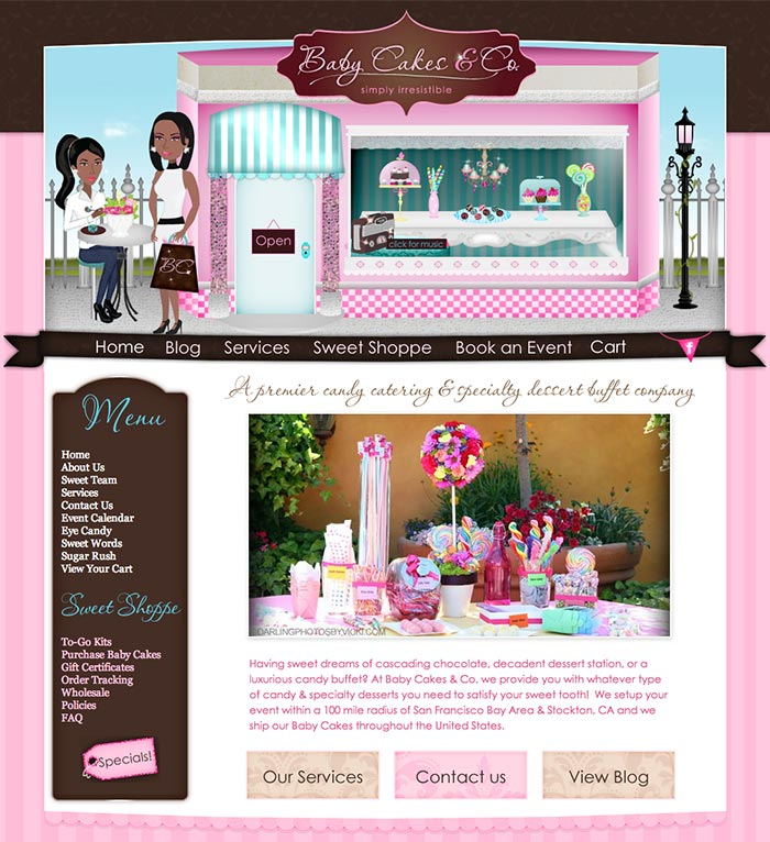 Event Planning and Catering Website