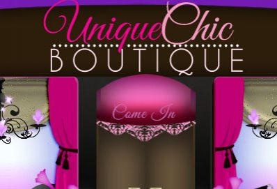 Unique Chic Boutique Shopping Website Design