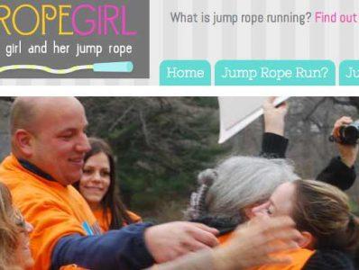 That Jump Rope Girl Website Design