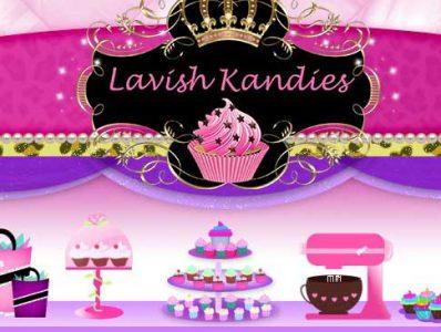 Lavish Kandies Bath and Soap Website Design