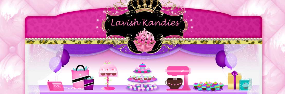 Lavish Kandies Bath and Soap Website Design
