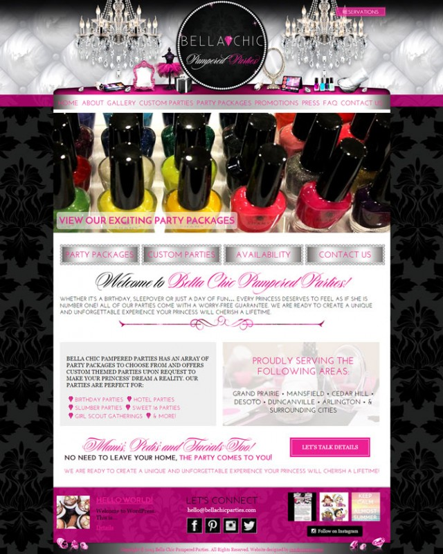 Bella Chic Website Design