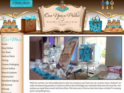Fairytale Website Design