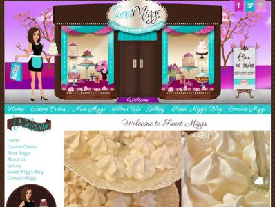 Cake Website Design