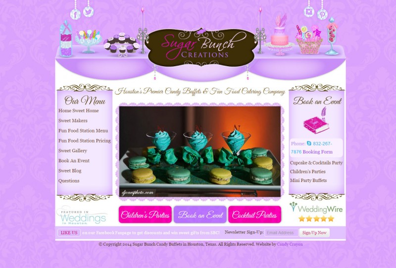 Candy Buffet Website Design